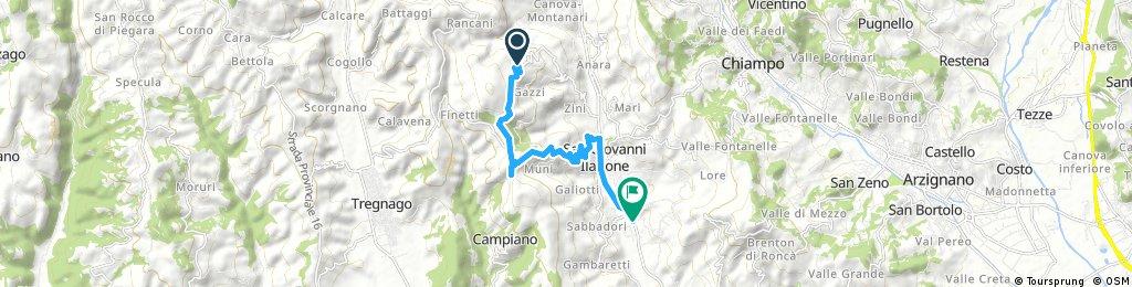 ride through San Giovanni Ilarione