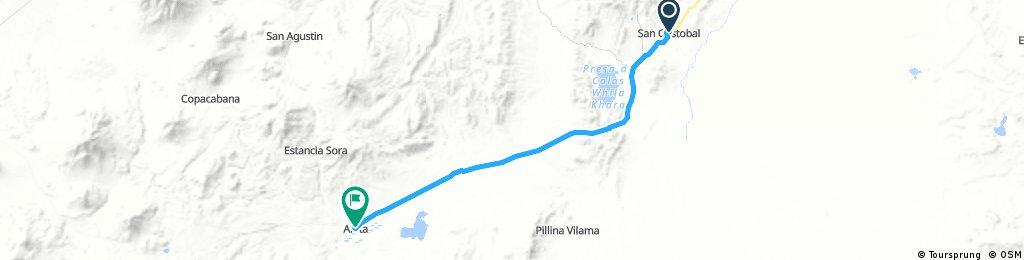 Lengthy bike tour from 25 août 08:35