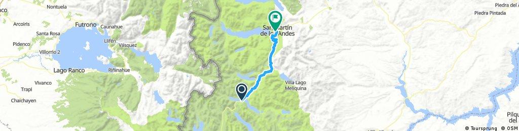 # 4ta. etapa Lago VIllarino/Falkner a S.M. de los Andes
