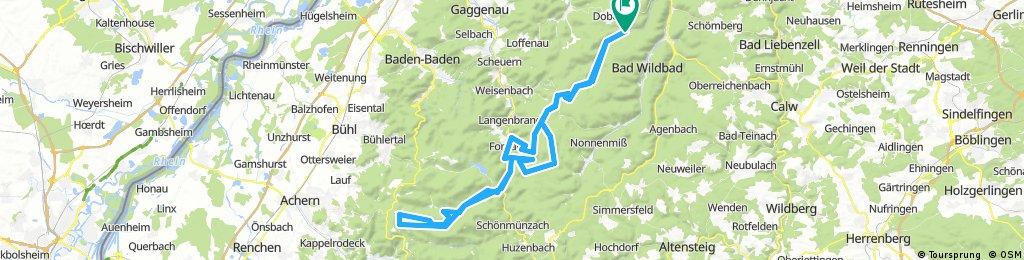 Eyachmühle-Ochsenstall-Eyachmühle