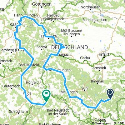 Werratal und Fuldatal