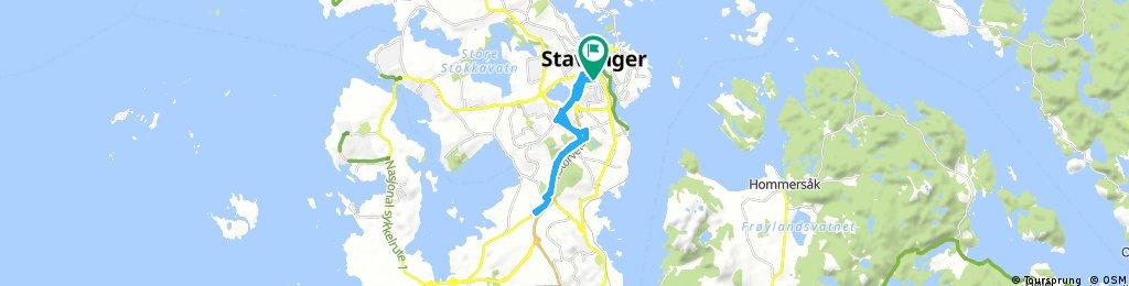 bike tour through Stavanger
