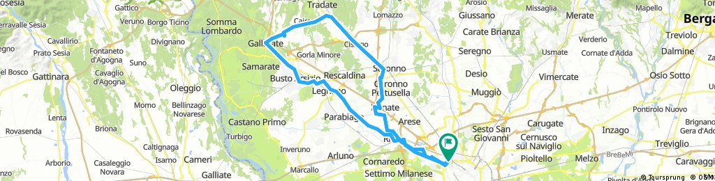 Long ride from 27 agosto, 01:21