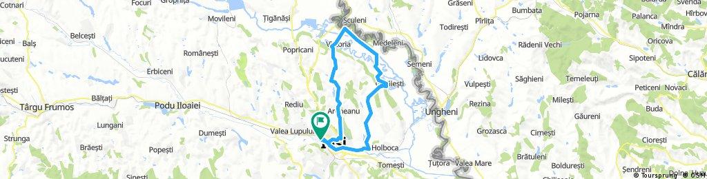 bike tour through Iași