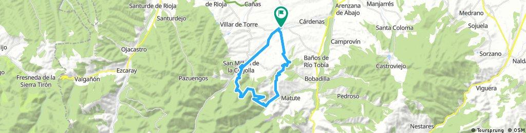 Badarán-Tobia-San Millán de la Cogolla