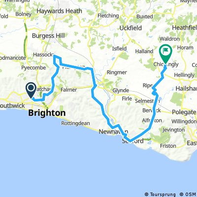 Hove to Chiddingly