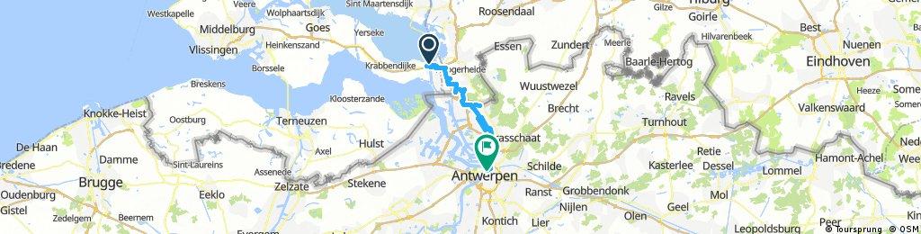 Schelde-Rijnkanaal - Anversa