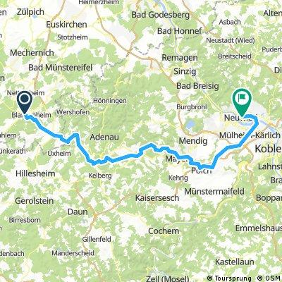 Blankenheimerdorf - Urmitz - Neuwied
