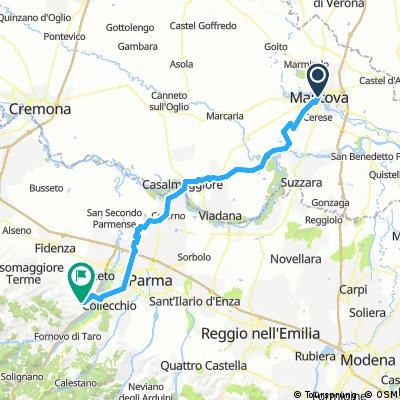 Etappe 8 - Mantova / Medesano