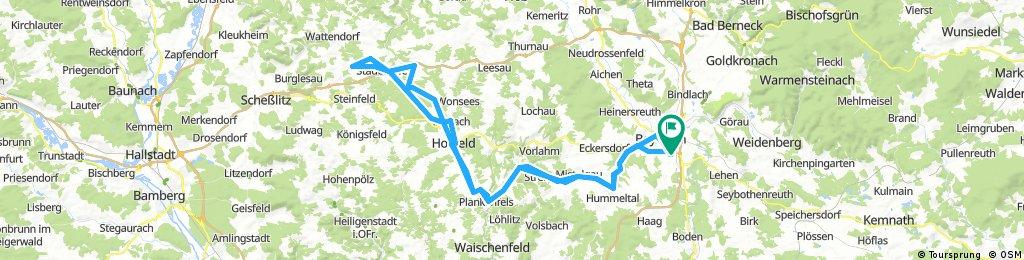 ADFC-Hof: Von Bayreuth nach Schederndorf