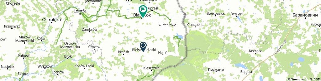 Wycieczka Bielsk Podlaski Białystok