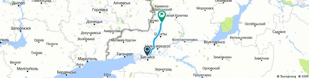 2017_08_15 Von Rostov on Don (Ростов-на-Дону) nach Molodezhnyy (Молодежный)