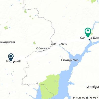 2017_08_17_Von Morosowsk (Морозовск) nach Kalach-na-Donu (Калач-на-Дону)