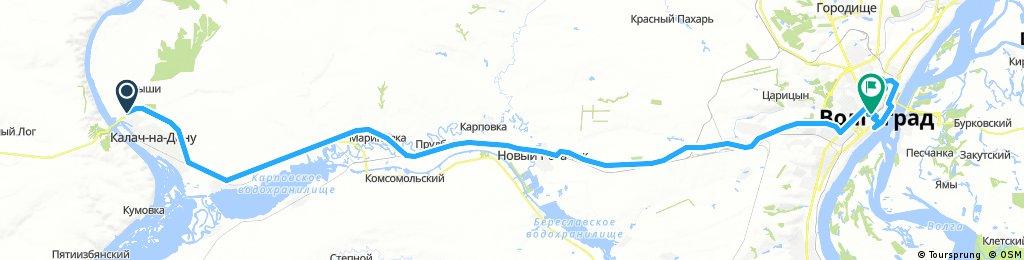 2017_08_18_Von Kalach-na-Donu (Калач-на-Дону) nach Volgograd (Волгоград)
