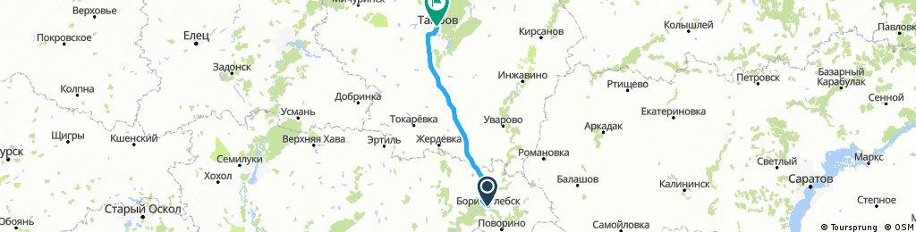 2017_08_22_Von Borisoglebsk (Борисоглебск) nach Tambov (Тамбов)