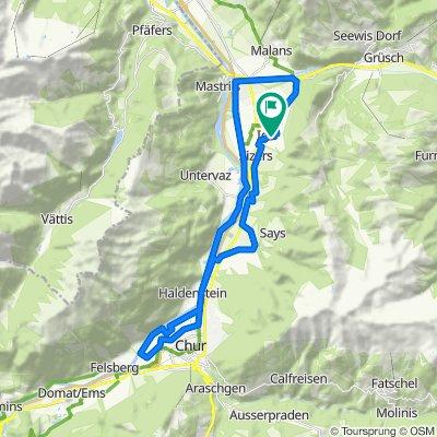 Igis - Rundfahrt nach Chur und zurück