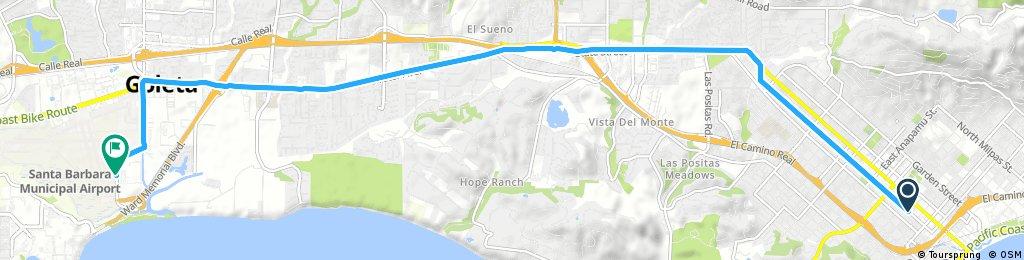 ride through Santa Barbara