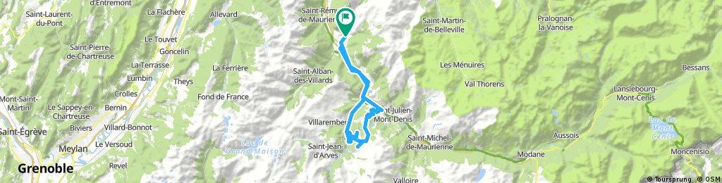 2017-08-01 / Col du Mollard via Villargondran