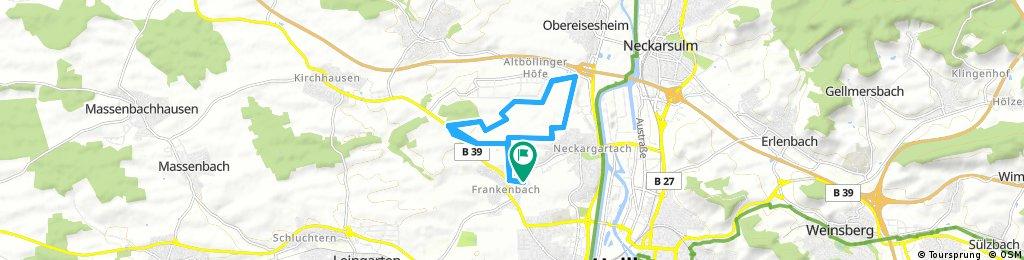 Lange Ausfahrt durch Heilbronn