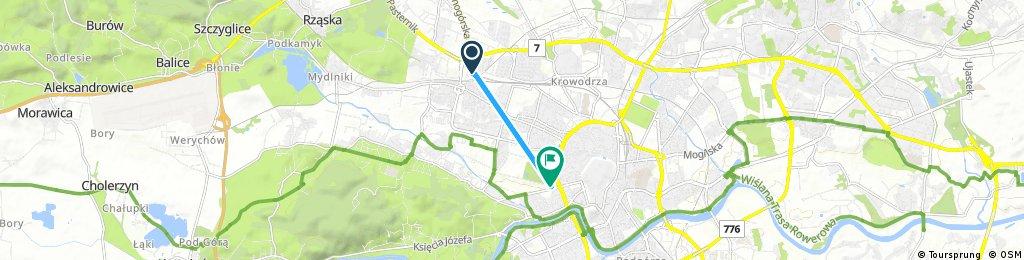 Quick ride through Kraków