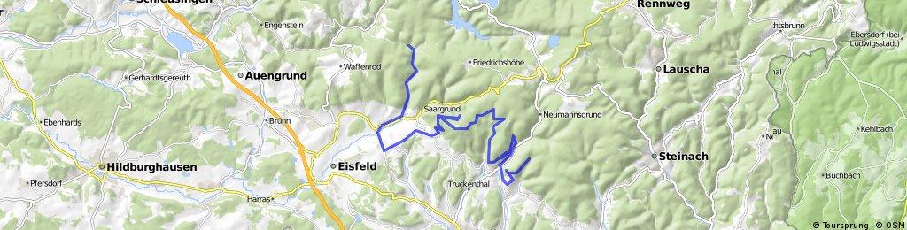 Vom Werrateich zur Triniushütte
