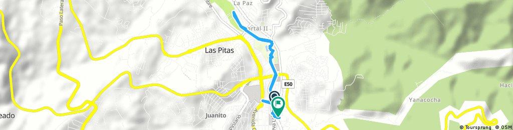 Brief ride through Loja