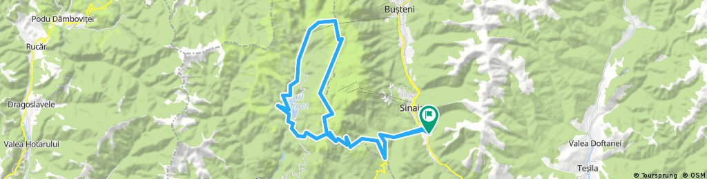 Sinaia-Transbucegi-Babele-Bolboci-Sinaia