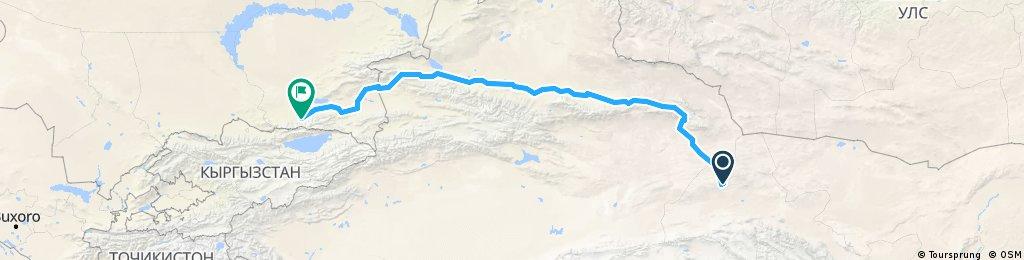 170719 China Xinjiang,China to Almaty,Kazakhstan