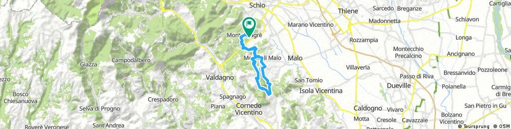 Monte Magrè-Monte Di Malo-Faedo-Priabona