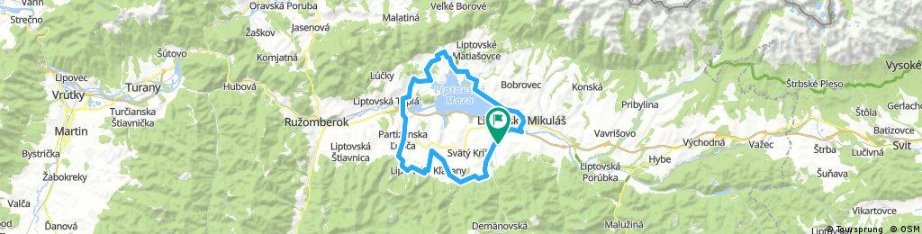 Offroad bike Liptov