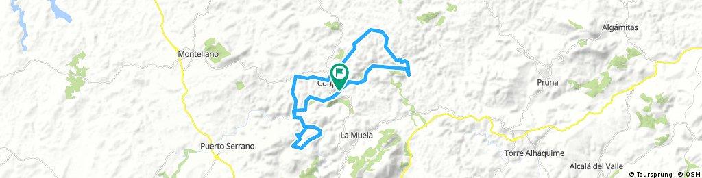 Estación Coripe-La Toleta-Zaframagón-Circular