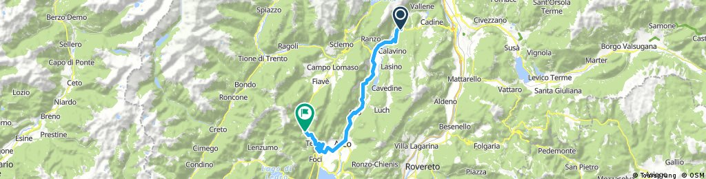 Lago di Teno 1 den 29. augusta, 9:57