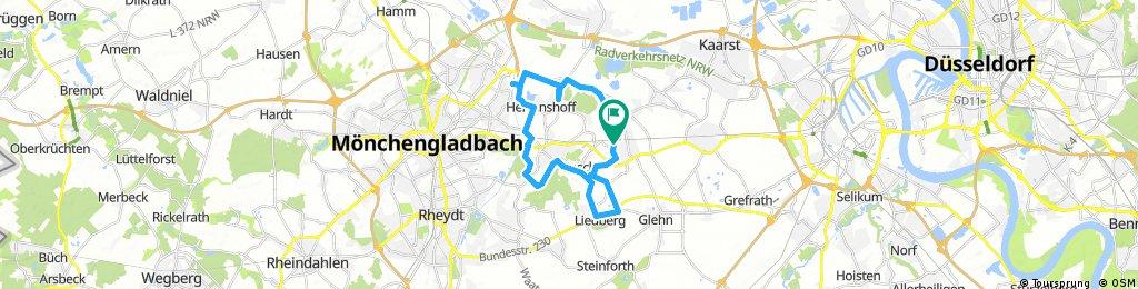 Inliner Runde 25km 2.30 Std vom 29. August 11:17