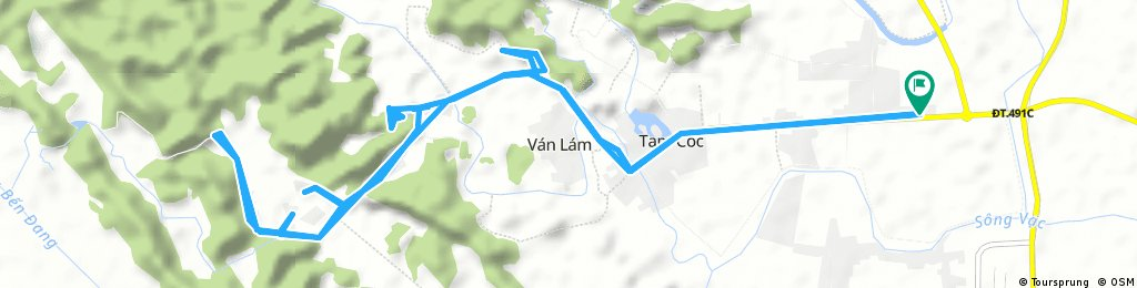 bike tour through Ninh Bình