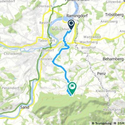 kürzeste Weg nach Schoiber, Steyr