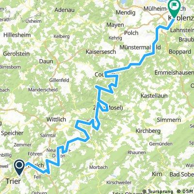 Radtour Trier - Koblenz