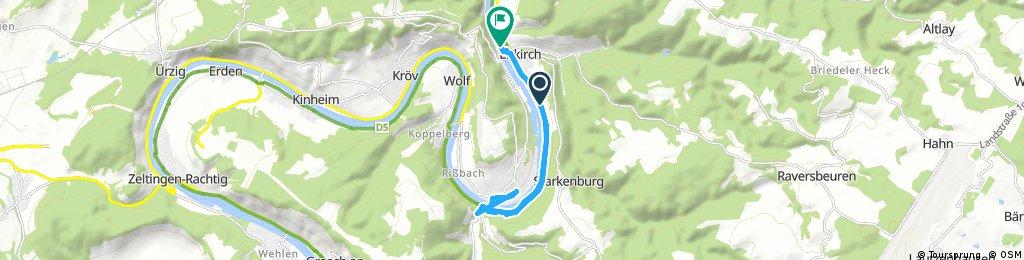 Ausfahrt durch Enkirch