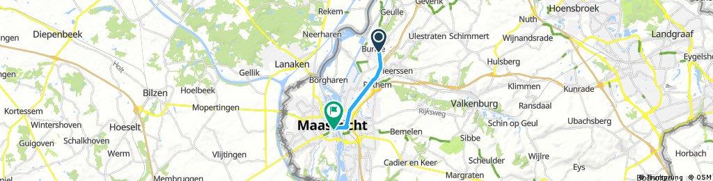 Brief bike tour through Maastricht