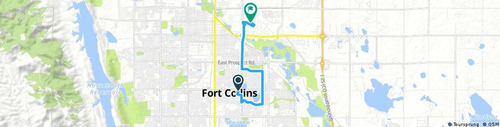 Quick bike tour through Fort Collins