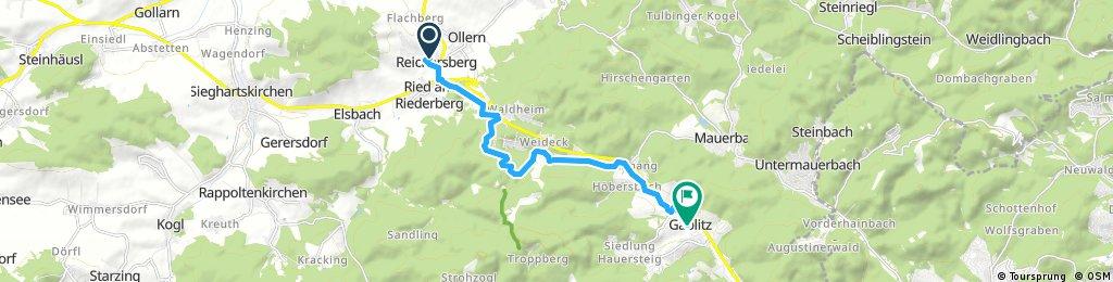 Radrunde durch Gemeinde Gablitz