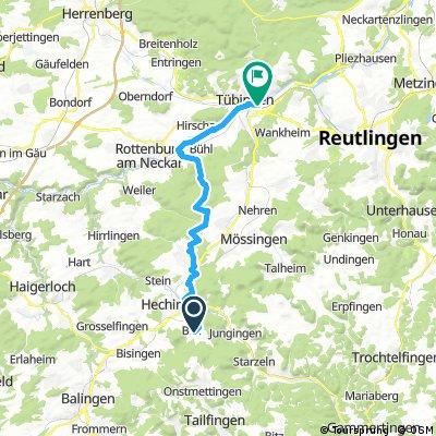 Boll - Tübingen durch den Rammert