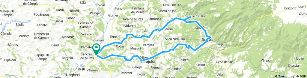 TgMures-Magherani-Sovata-Campu Cetatii