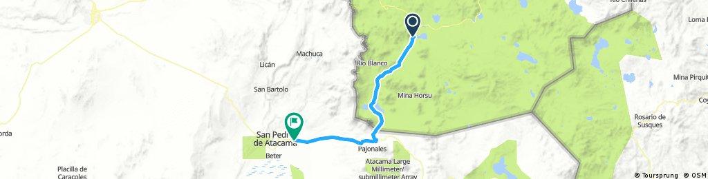 Lengthy bike tour from 30 août 08:33