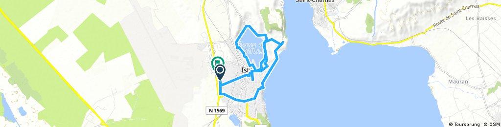 bike tour through Istres