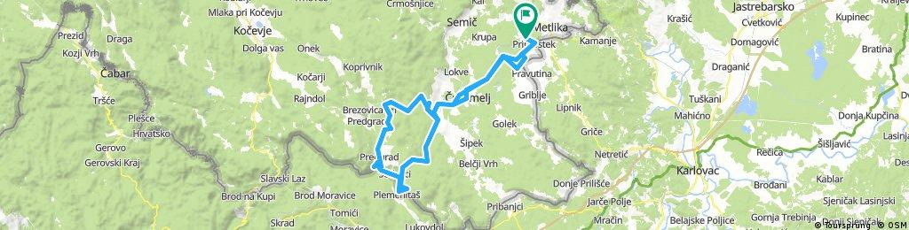Long bike tour from 30. avgust 08.19