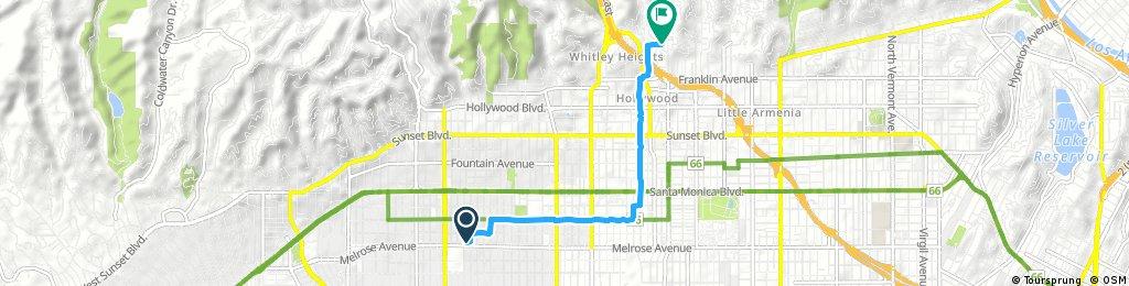 Short ride through Los Angeles
