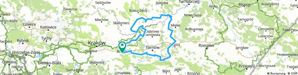 Małopolska - Podkarpacie - Świętokrzyskie; 2017.08