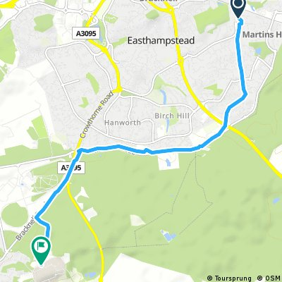 Short ride from 31 August, 19:27