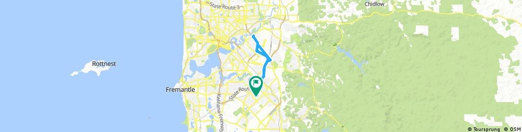 Lengthy bike tour through Huntingdale