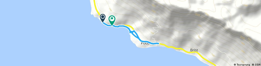 Brief bike tour through Podaca